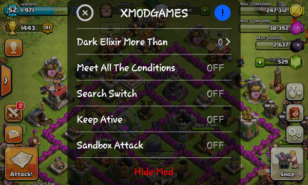 cheat loot clash of clans android