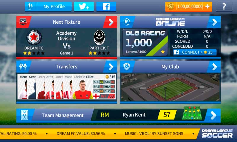 Cheat Dream League Soccer 2018 Unlimited Coins