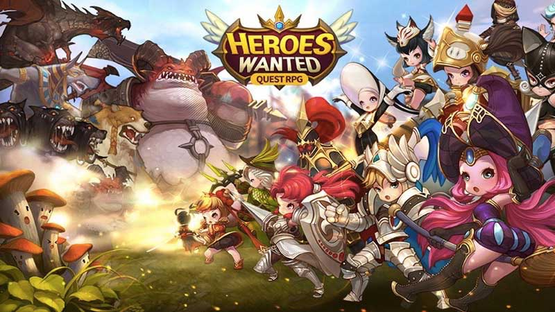 Cheat Heroes wanted Quest RPG Mod Apk
