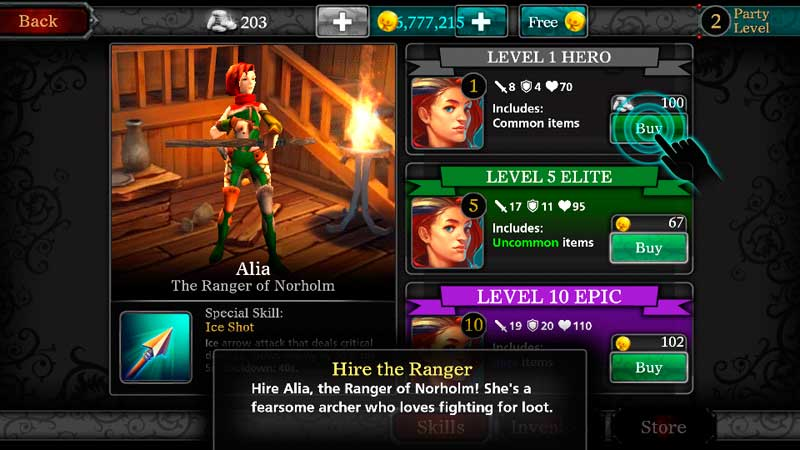 Hack Game Heroes of Destiny Android