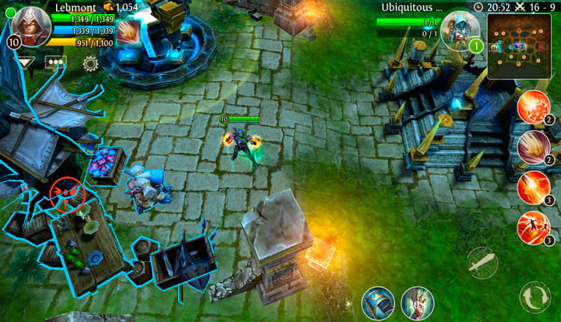Heroes of Order and Chaos Di Android